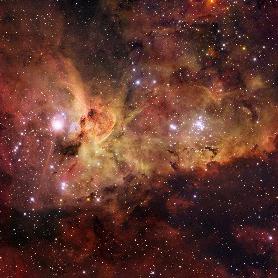 Carina Nebula, INAF identifies new star formations