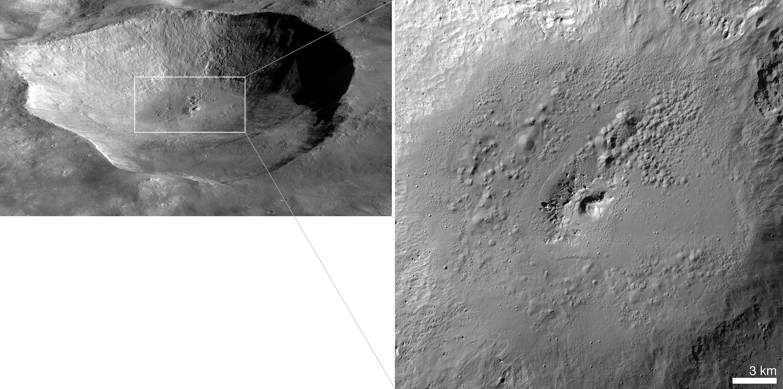 Hydrogen on Vesta hints at water