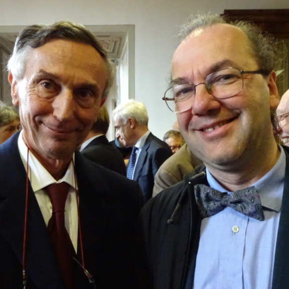 Ragazzoni and Salinari awarded the Feltrinelli Prize 2016 for the development of adaptive optics