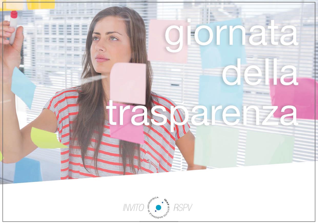 Giornata della Trasparenza