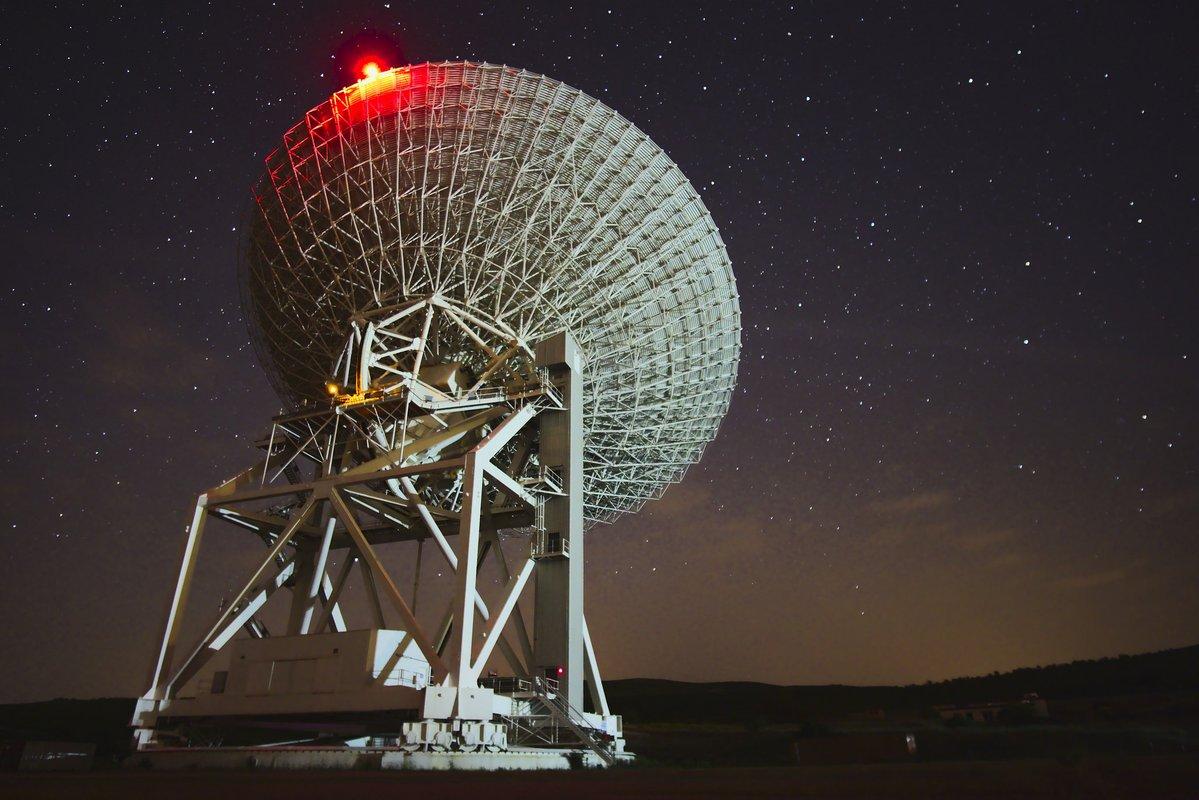 Il Presidente dell'ASI in visita presso il Sardinia Radio Telescope