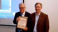 L'Università di Dubna conferisce a Massimo Capaccioli la Laurea ad Honorem