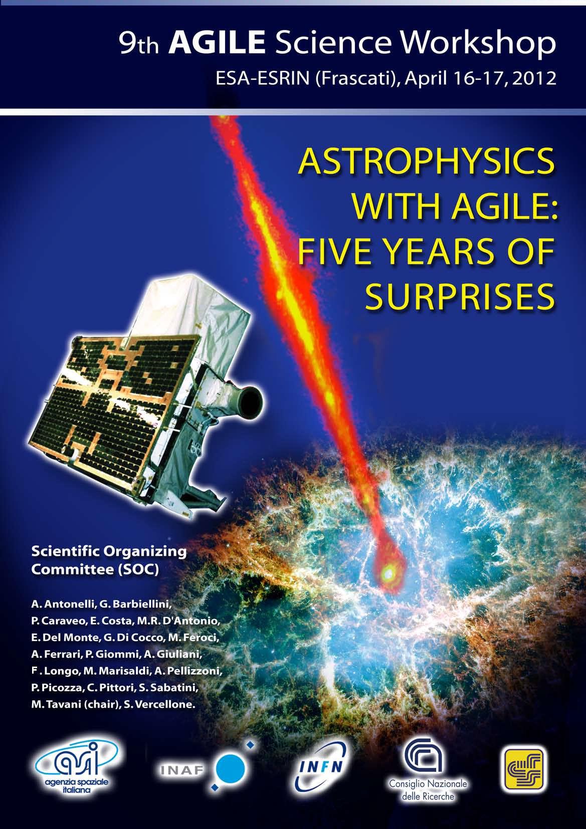 L'Astrofisica con Agile: 5 anni di sorprese