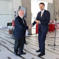 Riconoscimento all'INAF da Lombardia Aerospace Cluster